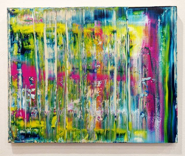 "Summer Station 20"" x 16""  Acrylic on Canvas For Sale! $85.00!  Free Shipping!  #art #painting #acrylicpainting #abstractpainting #artshow #arttherapy #design #interiordesign #style #fashion #artistofinstagram #artofinstagram #visualart #artist #painter #stevesharonart #btv #vt #contemporaryart #abstractartist  #abstractpainter #color #modernart #instaart #outsiderart #instaart #artfinder #artdealer #fineart"