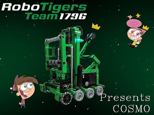 After an extremely difficult year for this team, we are excited to get to play Destination: Deep Space in a few days! Cosmo will be playing at Hudson Valley Regional, SBPLI #2 & the NYC Regional. Thank you to all of our family, friends and sponsors that made Cosmo possible. 💚 #robotreveal #desinationdeepspace