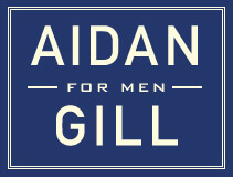 AIDAN GILL for MEN