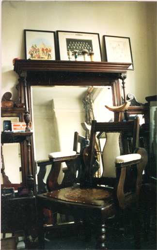 1985: Home barber, Boyton Road London