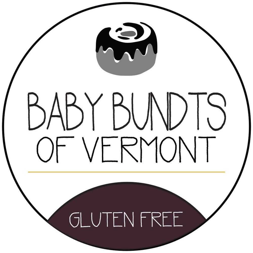 Baby Bundts of Vermont - MORRISTOWN, VTBaby Bundts are a non-GMO product that values using the best ingredients. We strive to keep our cost low and our quality high by making our own flour blends. Each cake is a unique blend of flours. Some have nut flours and meals such as almond, hazelnut, and coconut. Others contain brown rice and sorghum ratios. All of the cakes have a secret ingredient—an ancient grain from Ethiopia called teff. Baking with teff has enhanced the flavor and texture of our cakes, loading them with iron and protein.