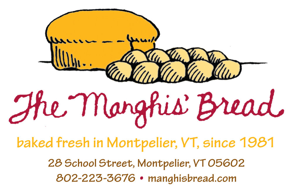 Manghis' Bakery - MONTPELIER, VTElaine and Paul Manghi founded the Manghis' Bread in their North Randolph home in the late 1970s. Their misson was to provide healthy, homestyle breads at an affordable price for local families. The bakery is now second generation with Elaine and Paul's daughter, Maria, and her husband, Steve, keeping the tradition.