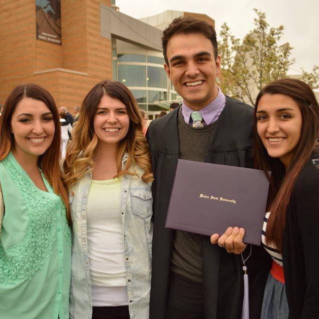 WSU Alumnus - I graduated from Weber State University with a BA in Musical Theatre!