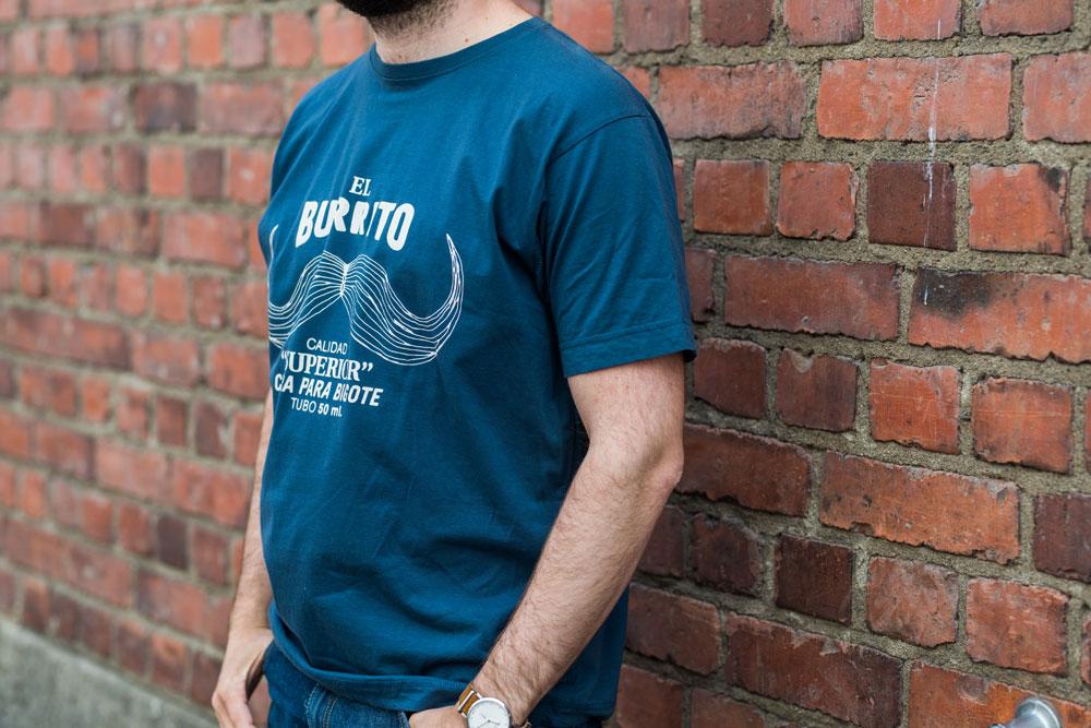El Burrito. Continental N03 Men's Classic T-shirt + etsauspainatus.