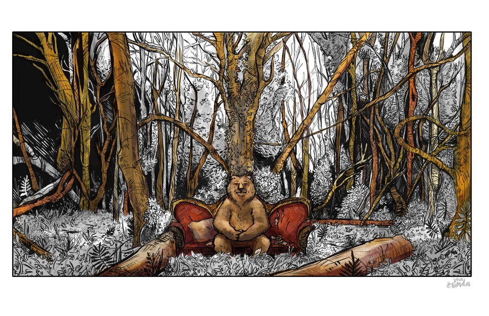 The Bearapist   Is he your therapist? or are you his?