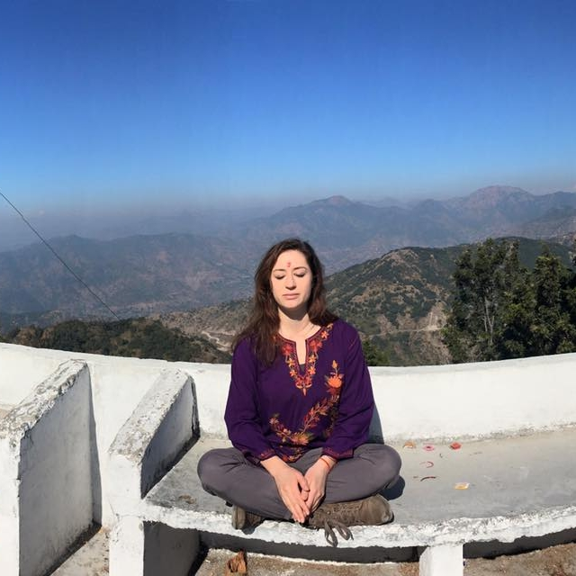 This is a no-muss, no-fuss, meditate-anywhere sorta thang. That includes but is not limited to Indian Mountaintops!