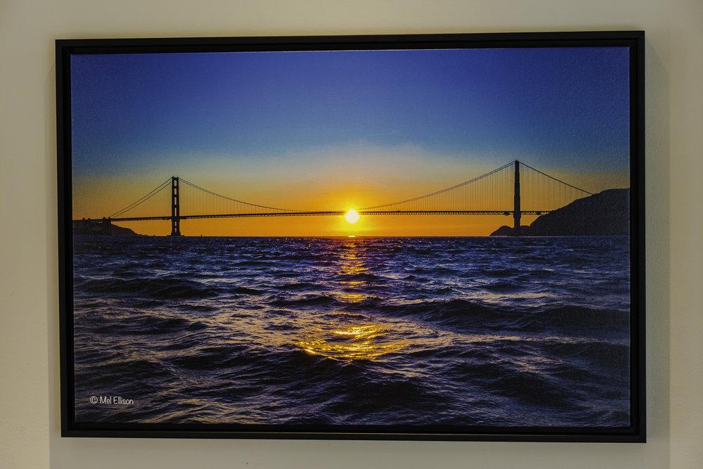 Canvas, framed
