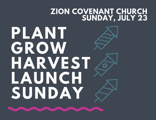 Branding Launch Sunday Zion Covenant Church