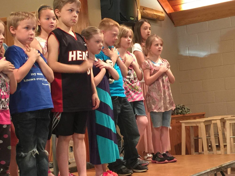 Zion Covenant Church ZionKids Youth Ministries Ellsworth Wisconsin