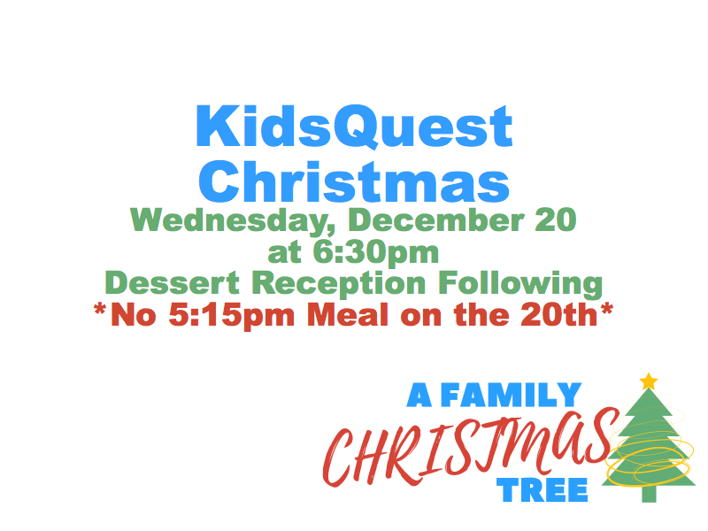 KidsQuest Christmas Program — Zion Covenant