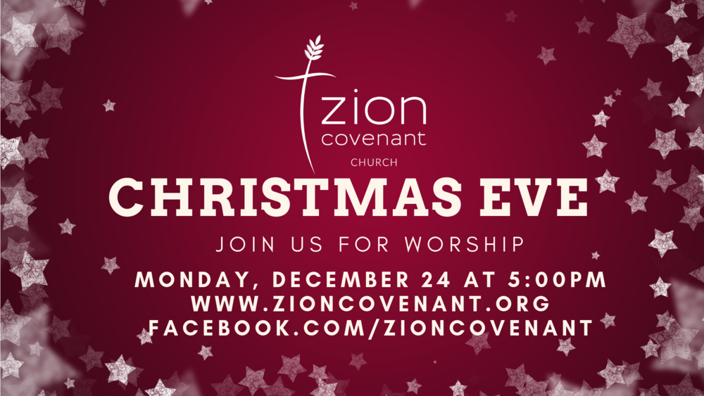 Worship with us on Christmas Eve
