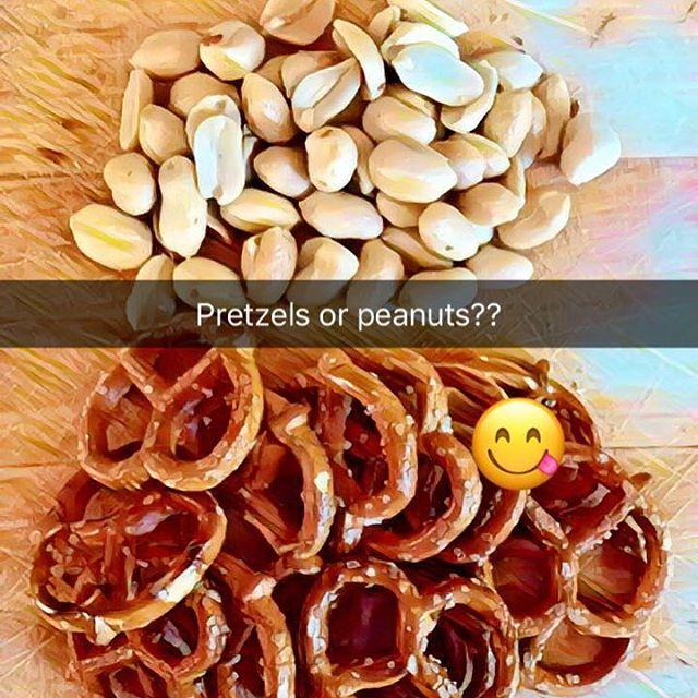 #pretzels or #peanuts ?!?!