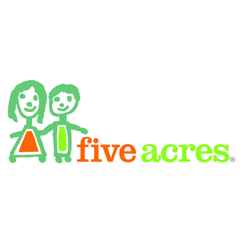 Five Acres - Established in Los Angeles in 1888, Five Acres is a child and family service agency ensuring every child has a safe, healthy, and permanent family solution. Five Acres offers a full continuum of care including community-based counseling, intensive residential care, a therapeutic school for special needs students and foster care and adoption services. Currently, Five Acres serves more than 8,700 children and their families across five counties.