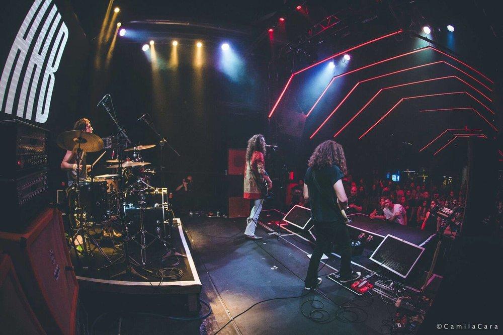 Hammerhead Blues, em apresentação na Clash Club / SP