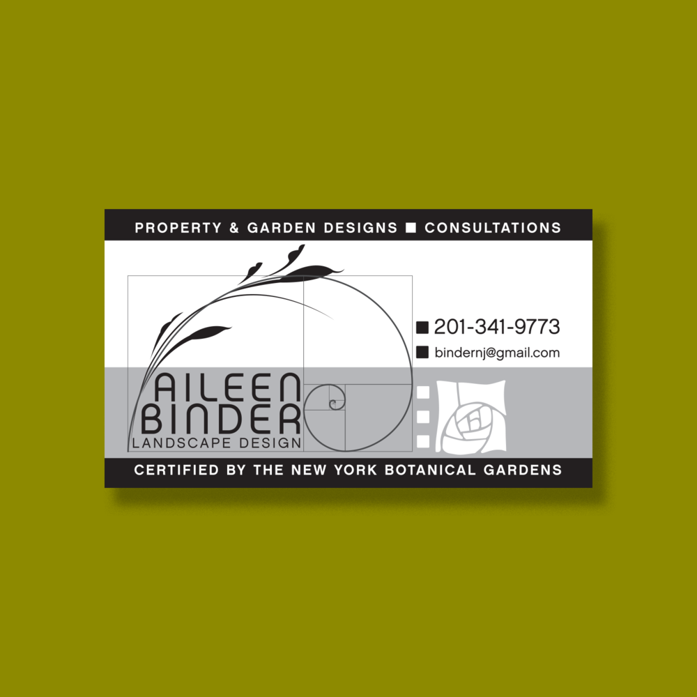 Aileen Binder business card