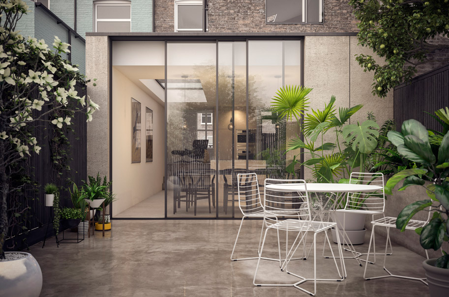 """<p class=""""resident"""">Damian Howkins</p>Architects"""