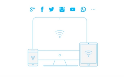 """4. 上网  将本地网络设置好后,所有Wi-Fi兼容的设备,都可以连接到""""btfly""""开头的无线网络。"""