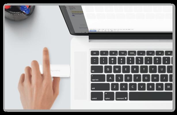 第一步:插上Butterfly VPN   Butterfly VPN采用USB供电方式,可安装至笔记本电脑、充电器插头、移动电源等USB接口上。产品蓝色指示灯持续慢闪为正常。
