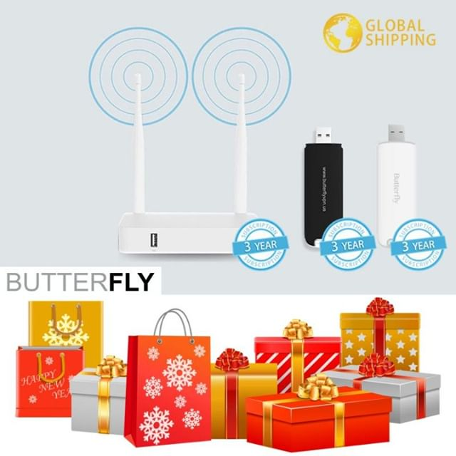 """Best New Year Gift Idea - ButterflyVPN """"送Butterfly,就是送自由~"""" 包人满意的礼物,谁会拒绝自由呢  官方网址: https://butterflyvpn.us/  #love #holidays #holiday #gift #gifts #winter #instagood #family #shopping #happyholidays #giftideas #presents #luxury #present #holiday #shoplocal #giftidea #accessories #shop #shopsmall #family #happynewyear #newyearseve #party #happy #newyears #resolutions #newyou"""