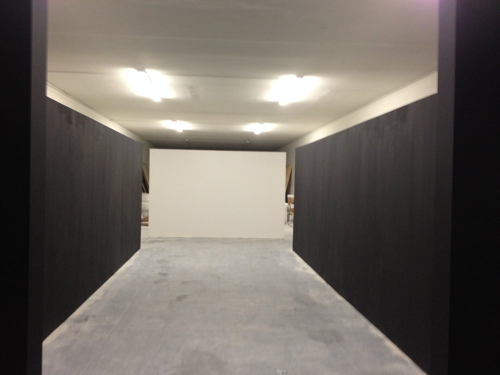 Gallery Build with first Coat