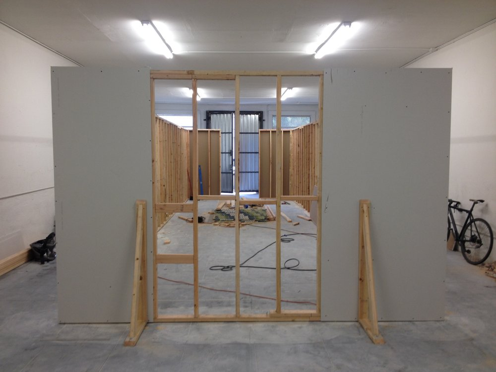 Gallery Build-out