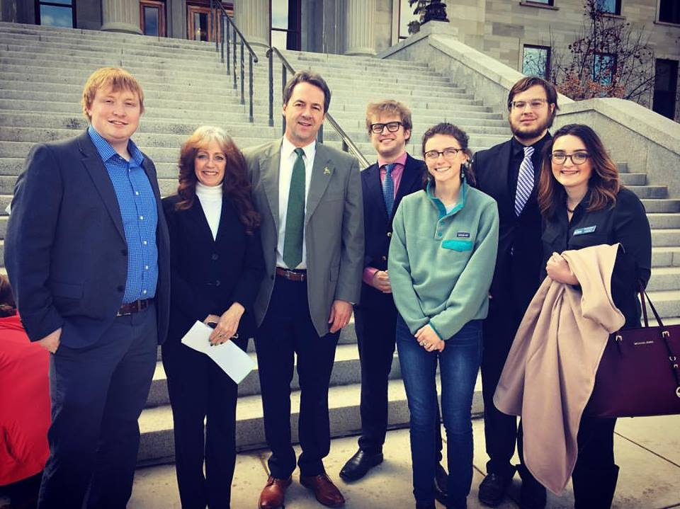 MontPIRG meets with Governor Steve Bullock