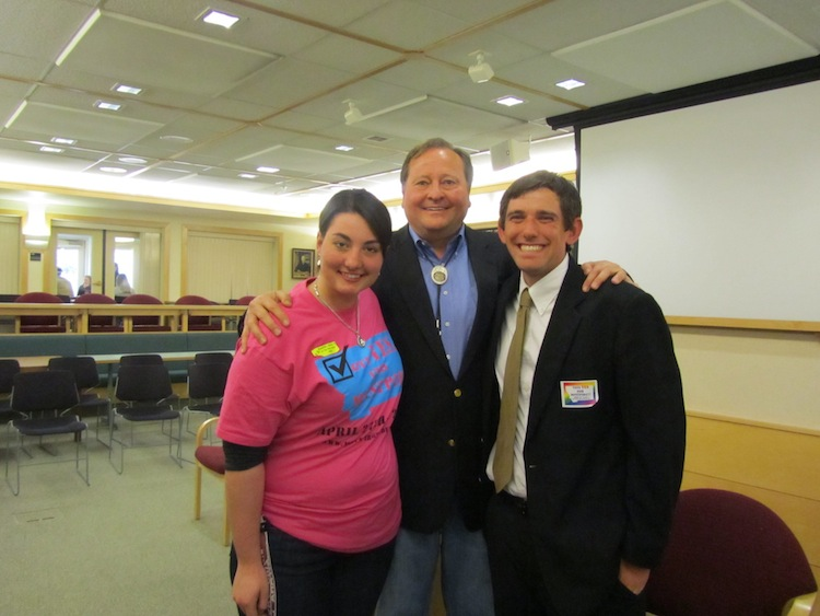Former Governor Brian Schweitzer meets with MontPIRG Board Members to discuss College Affordability