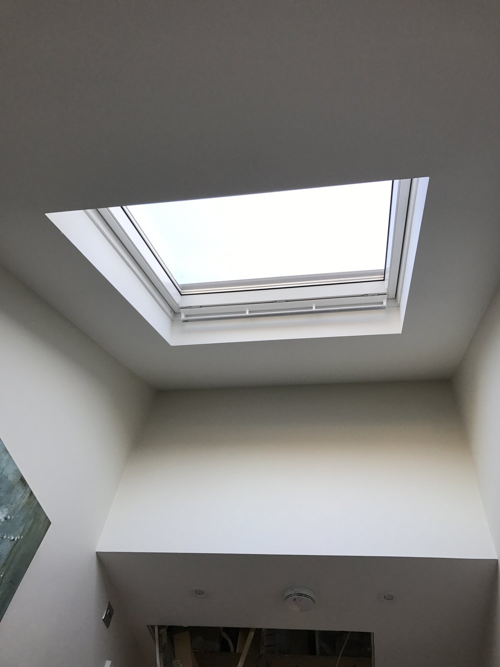 ceiling window