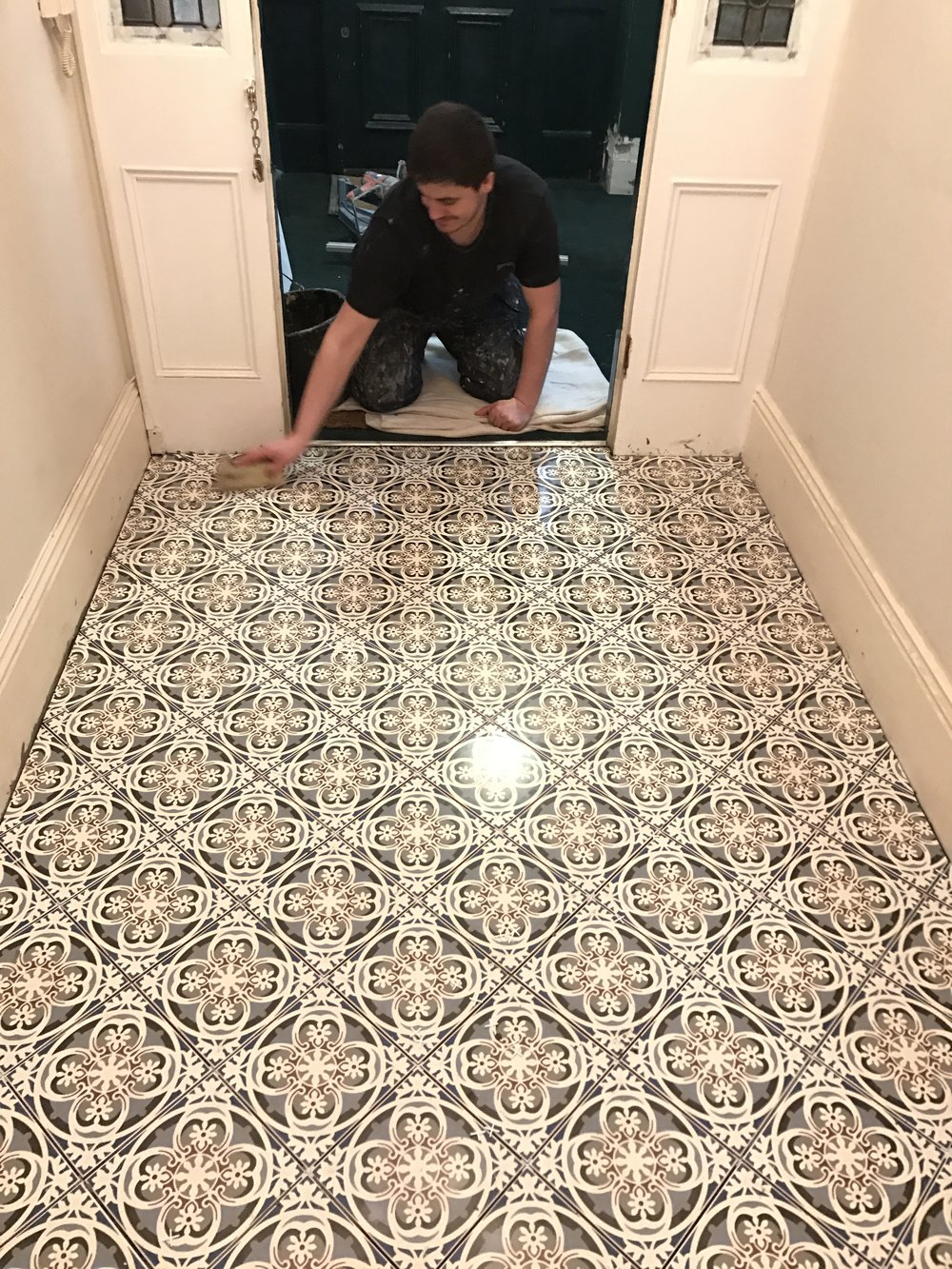 Tiledfloor