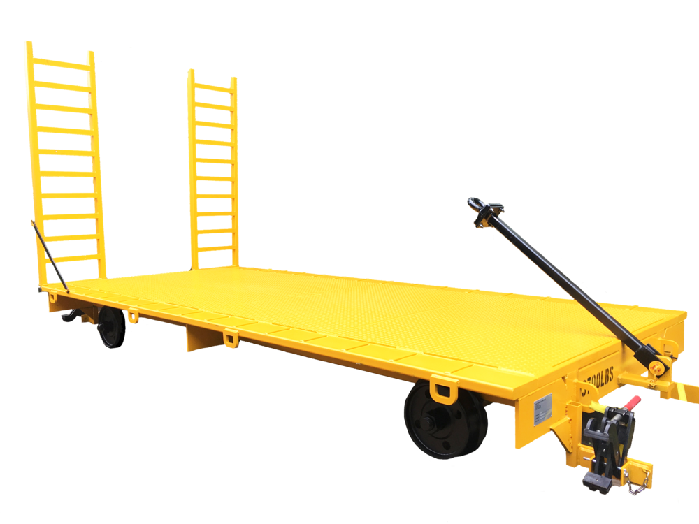 Custom Push Carts - Meadoweld strives to meet the requirements of our customers and will provide custom push cart configurations to facilitate the needs of a specific project or application.