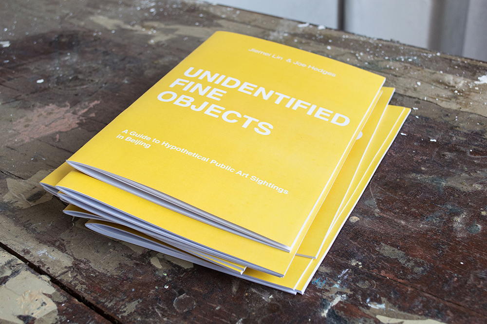 Artist Book:  Unidentfied fine objects: A Guide of Hypothetical Public Art Sightings in Beijing
