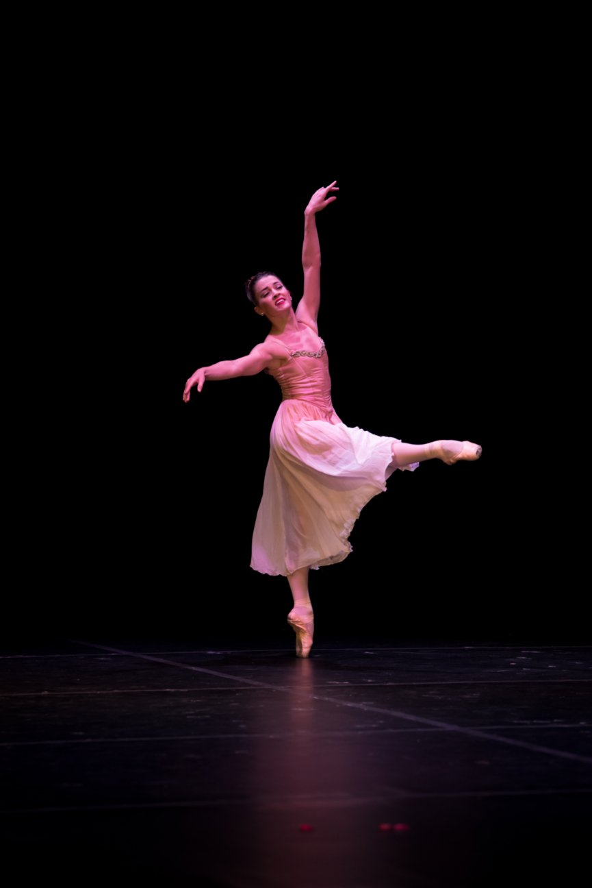 Guest Artist Lily Ojea Loveland, Ballet Palm Beach, is an amazing dancer!