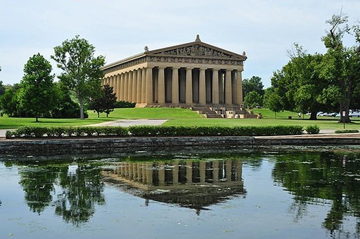 Centennial Park and the Parthenon