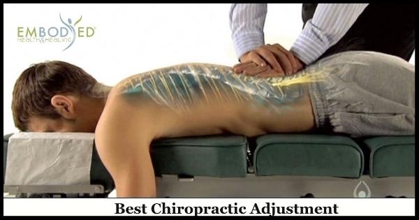 Best Chiropractic Adjustment