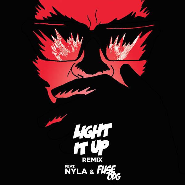 Light It Up,Major Lazer (feat. Nyla & Fuse ODG)