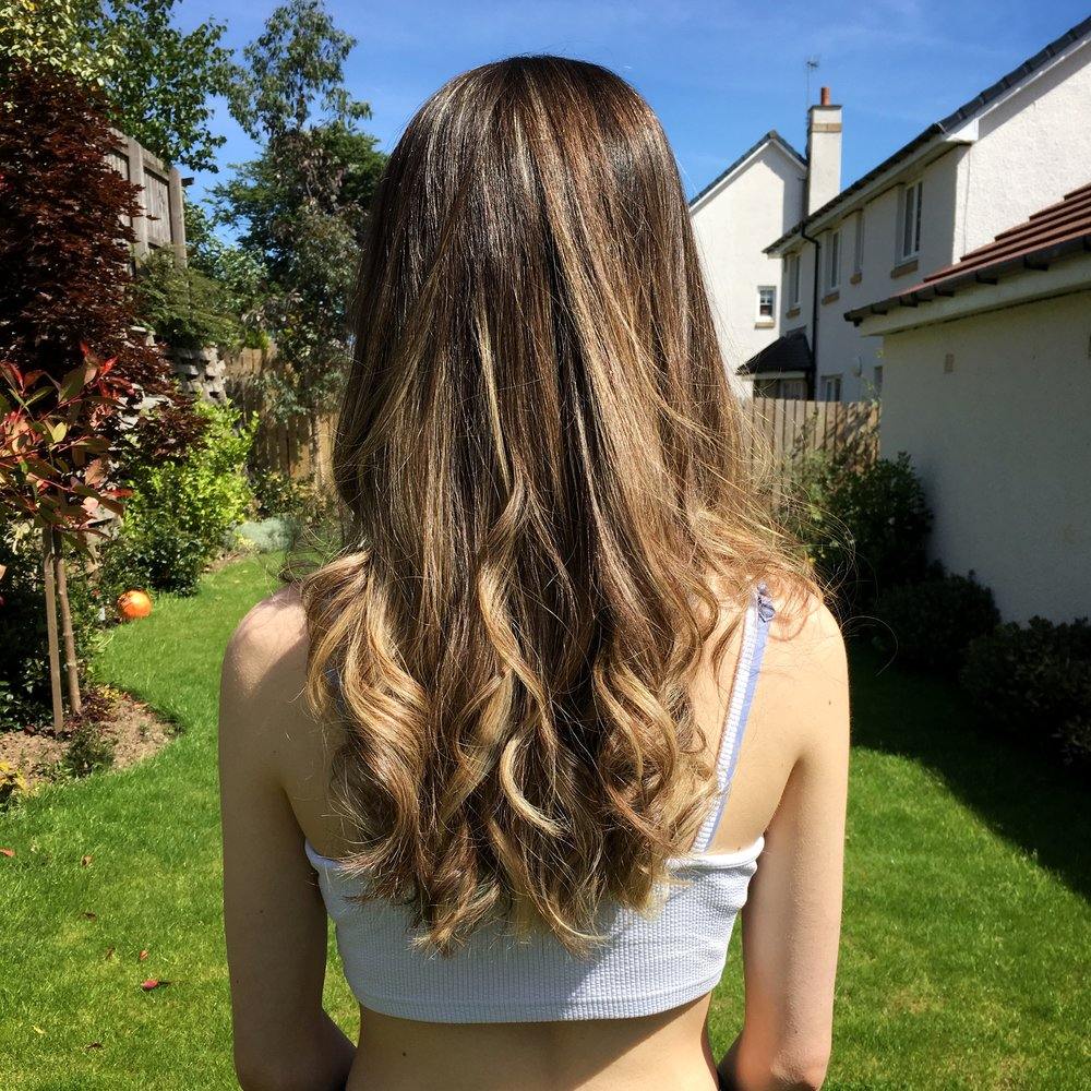ombre or balayage hair