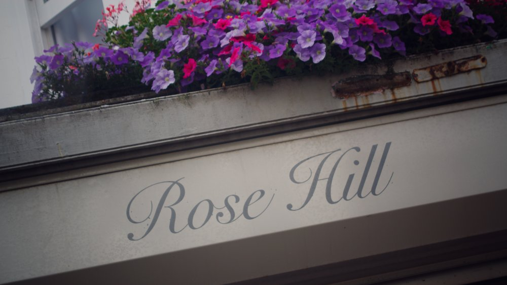 the front of Rose Hill