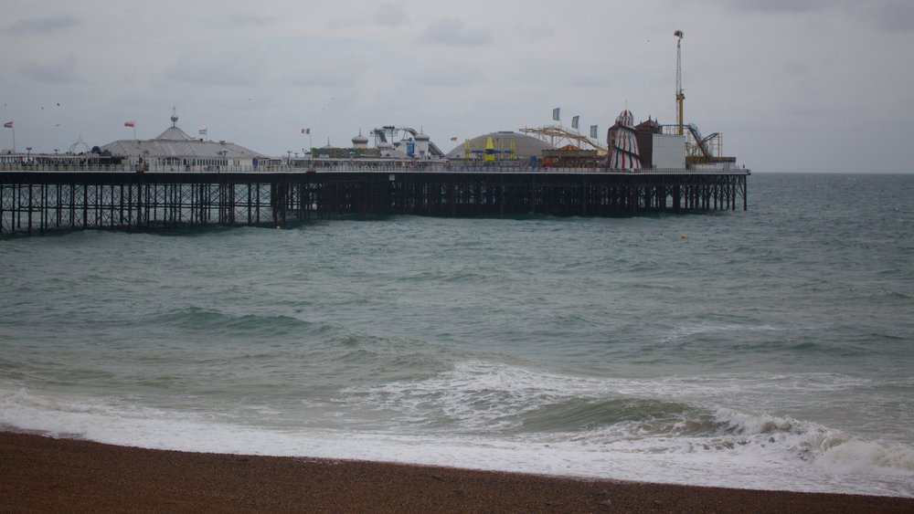 a view of Brighton Pier