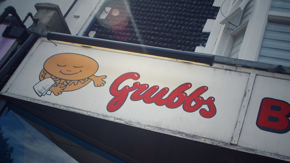 front of Grubbs Burgers