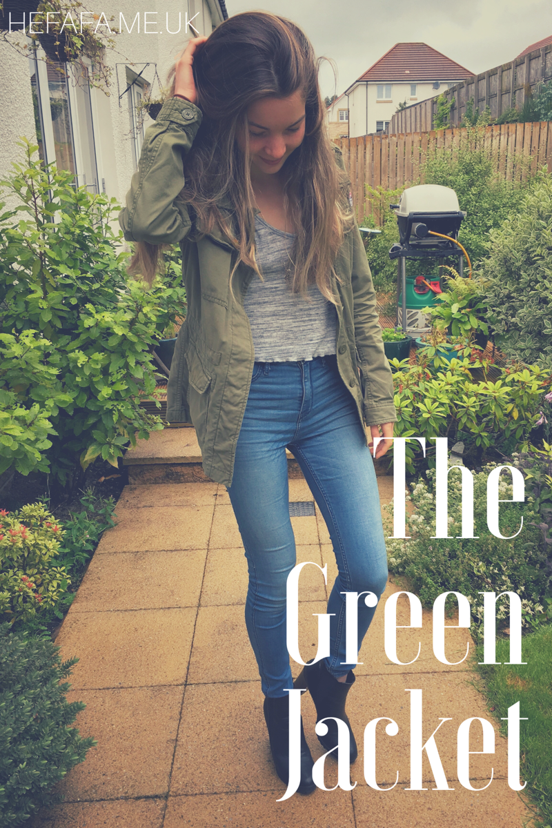 The Green Jacket - Heather Rowland on hefafa.me.uk  Published 23rd August 2017