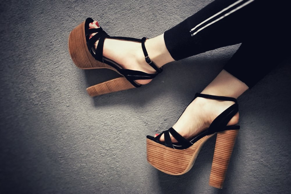 favourite heels (even though I really can't walk in these ones!)