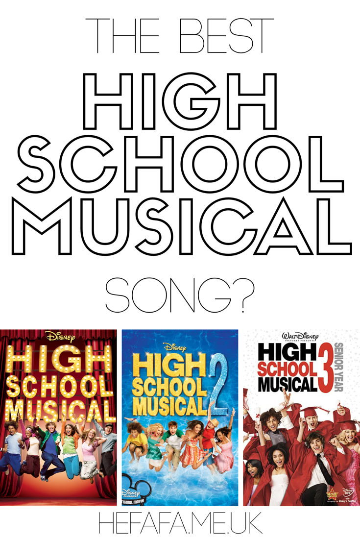 The Best High School Musical Song? - Heather Rowland on hefafa.me.uk  What's your favourite High School Musical song? Here are my thoughts...  Published 28th August 2017
