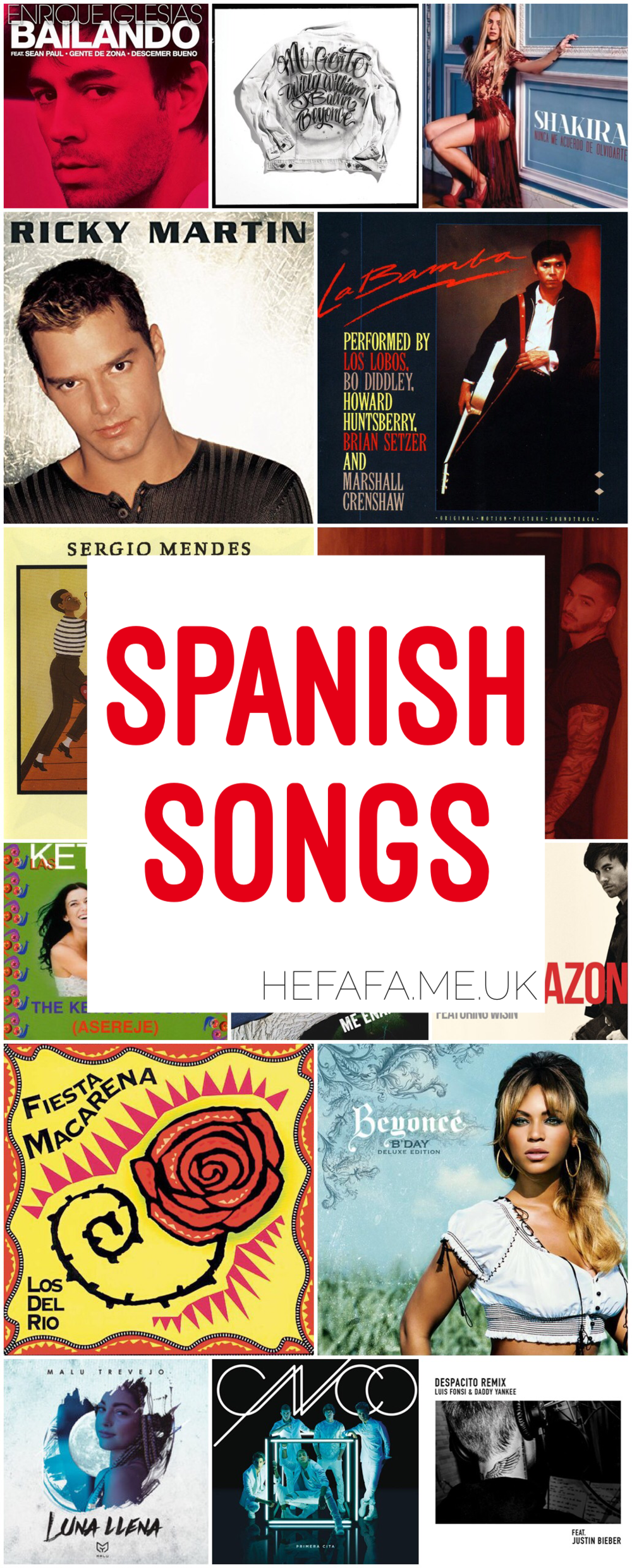Spanish Songs - Heather Rowland on hefafa.me.uk // Published 1st October 2017