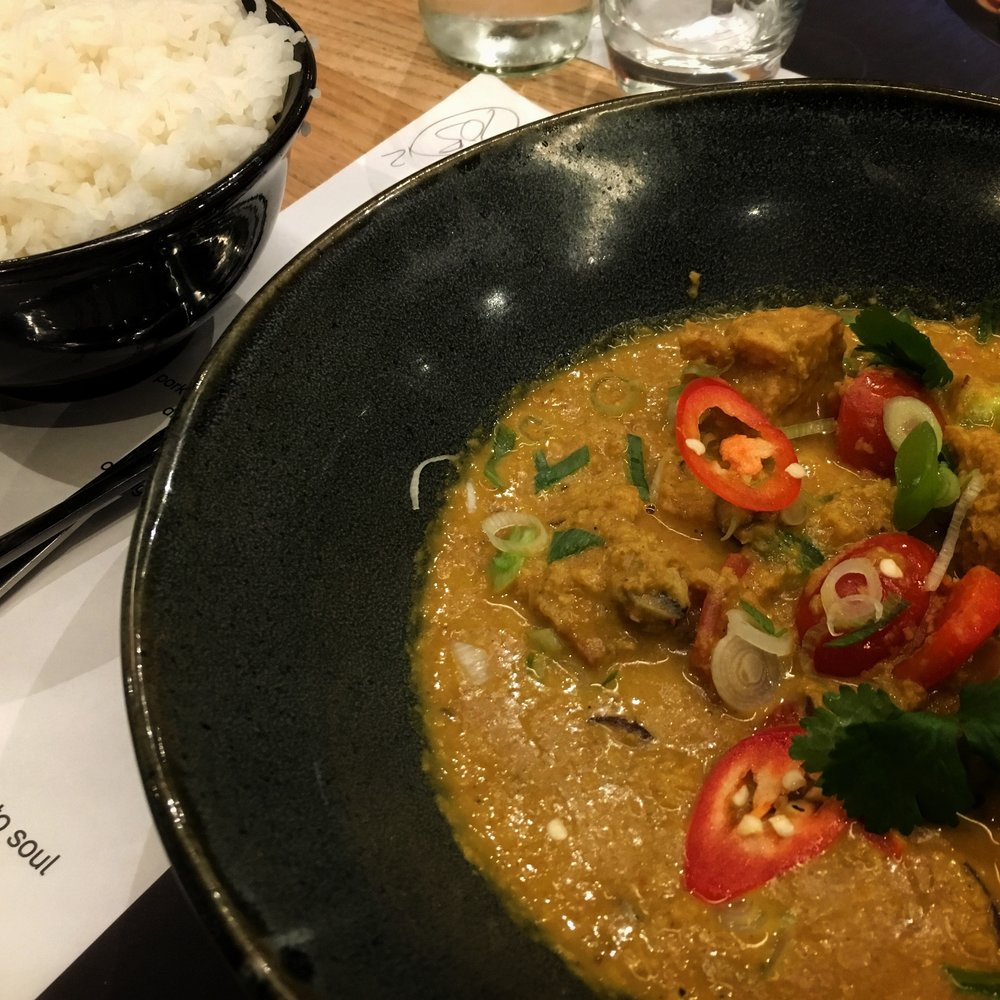 wagamama vegan curry