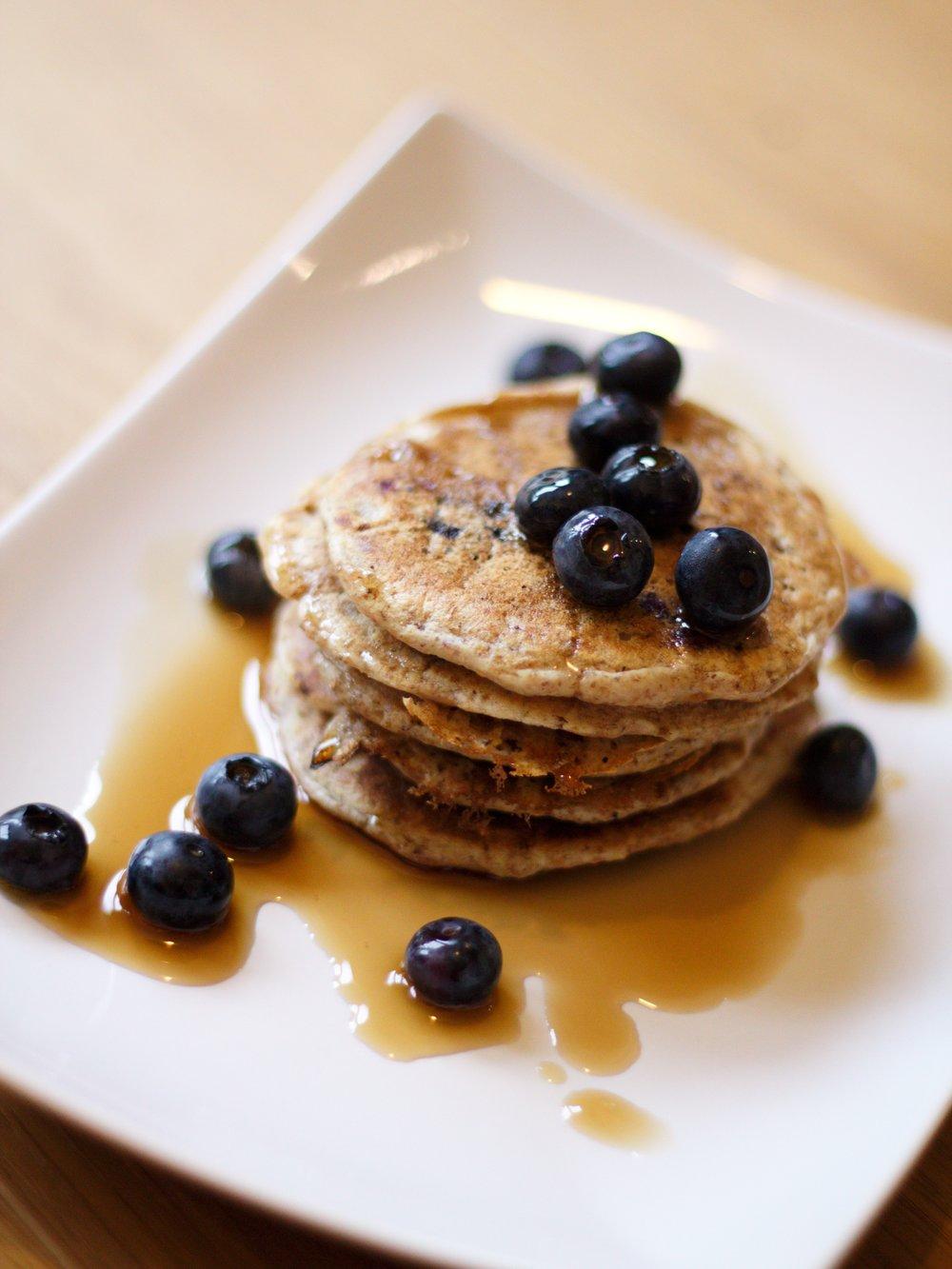 blueberry pancakes 2