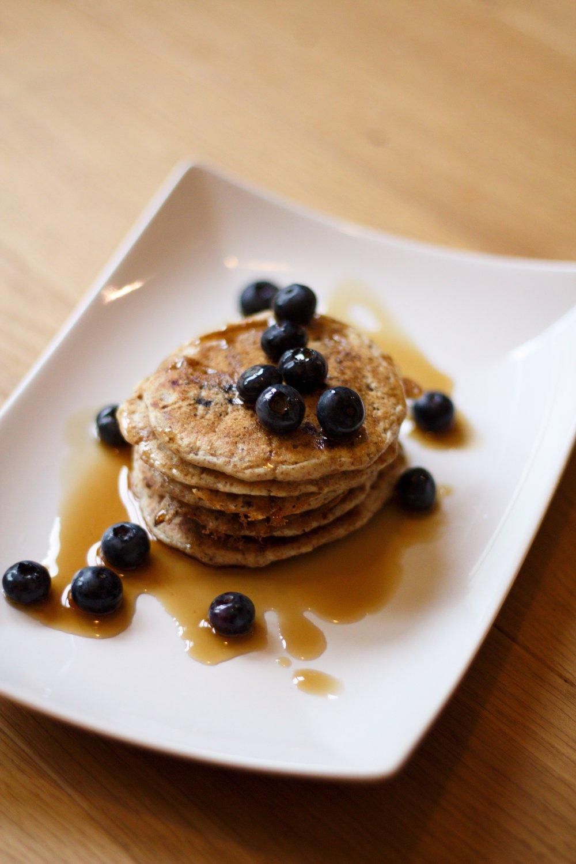 blueberry pancakes 4