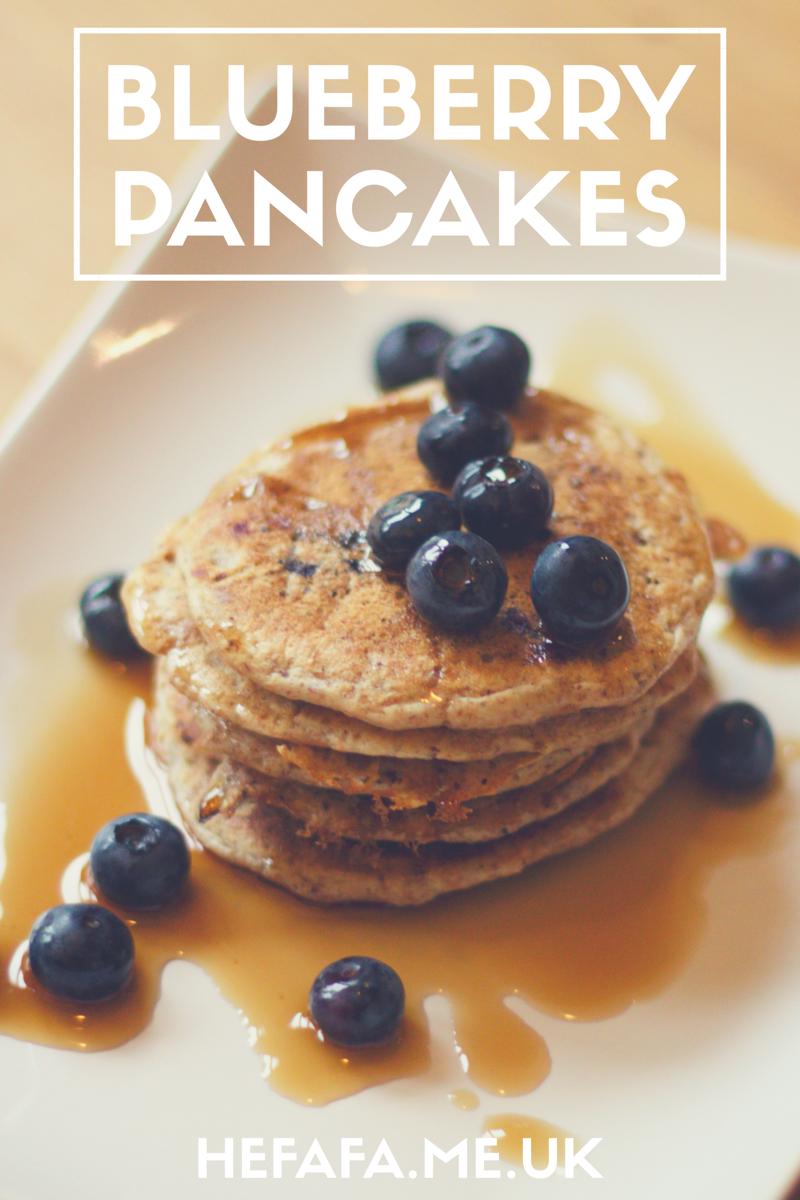Blueberry Pancakes (a Jamie Oliver recipe) - hefafa.me.uk