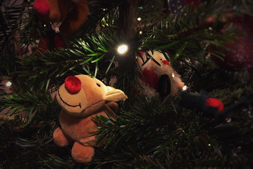 tree reindeer