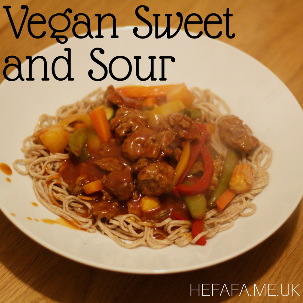 Vegan Sweet and Sour Recipe - hefafa.me.uk