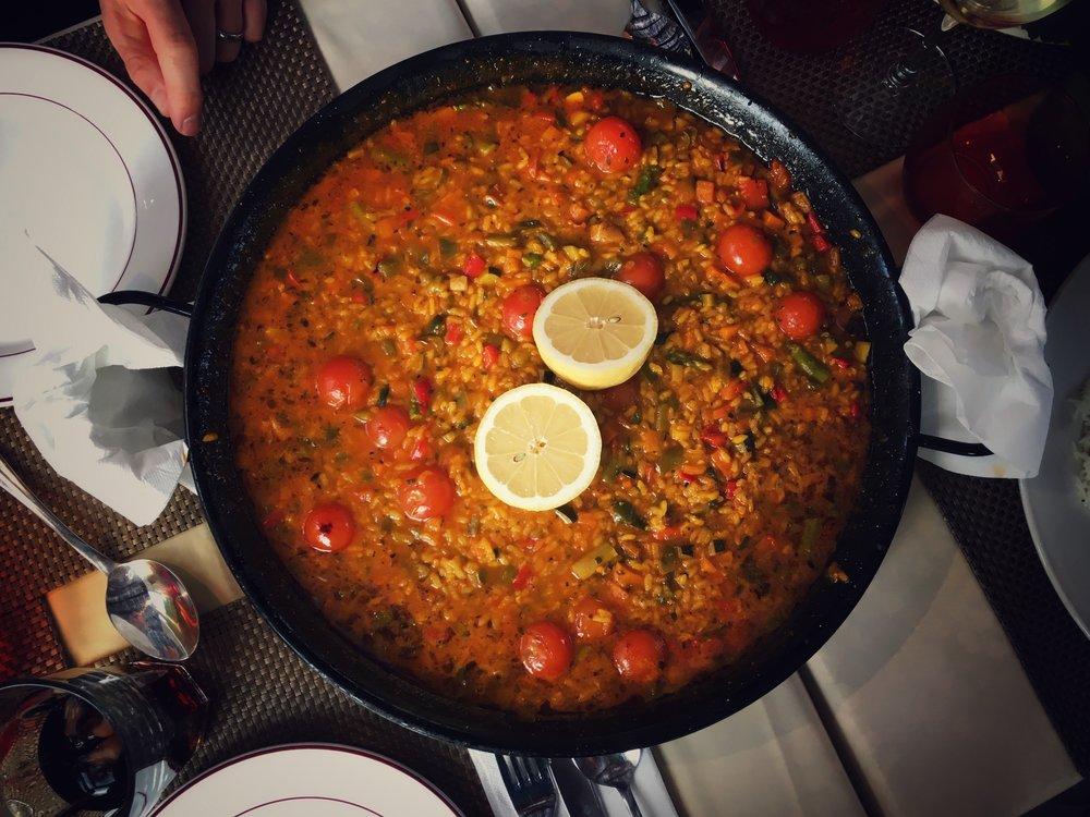 15th July - delicious vegan paella